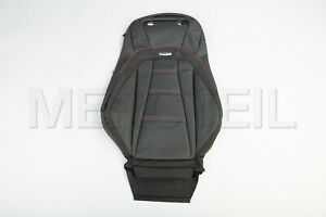 Genuine Mercedes E W213 Front Driver Seat Backrest Cover Black Red A2139105706