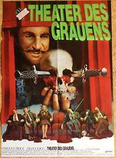 Horror THEATER DES GRAUENS Vincent Price Dianen Rigg Filmplakat