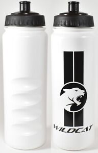Wildcat Cycling Water Bottle 750ml Wide Mouth Moulded Finger Grips MTB Bike Gym