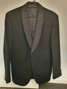 BLACK STAFFORD ELLINSON Dinner Suit - Jacket 102R Pants 92R  Very Good Condition