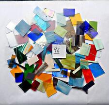 5 LBS SPECTRUM WISSMACH COE 96 SCRAP FUSIBLE GLASS Opal Trans Lot #5