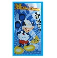 DISNEY MICKEY MOUSE CHILDRENS KIDS NOVELTY COTTON BEACH BATH TOWEL OFFICIAL NEW