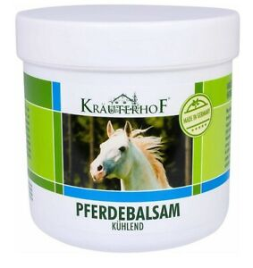 Krauterhof Massage Balm Horse Chestnut & Arnica Cooling Effect 100ml