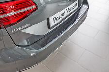 Protection Pare-Chocs en acier inoxydable noir pour VW PASSAT B8 3G Variant