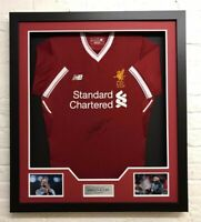 Jurgen Klopp Signed & Framed Shirt Liverpool FC Genuine Autograph AFTAL COA (D)