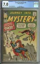 JOURNEY INTO MYSTERY #95 CGC 7.0 CR/OW PAGES