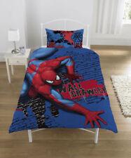 Spiderman Spider-sense Marvel Bettwäsche 137x200 75x50 Wall Crawler Design Herbst 2011