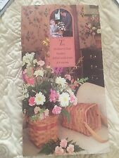 Longaberger 1987 Mother's Day Basket 1st in Series Dave Bonnie Flyer Rare