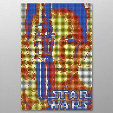 DIY Rubik's Cube Mosaic Rey Skywalker 600 Cube Kit