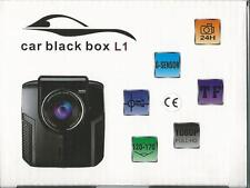 Dash Cam 1080P FHD Dash DVR Video Camera Cam Rec  G-Sensor 148° + 4GB SD Card