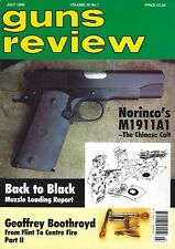 GUNS REVIEW - TWO ISSUES FROM 1996 (July and August)