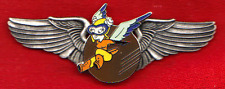 Classic WASP Fifinella Nose Art Deluxe Pilot Wings