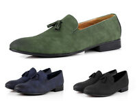 Mens Smart Casual Shoes Comfortable Italian Tassel Slip On Dress Office UK Size