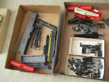 Vintage HO Scale Lot of Train Car Parts Trucks Shells Accesories Loco Bodies