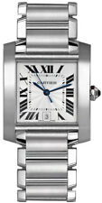 W51002Q3 | Authentic Cartier Tank Francaise Stainless Steel Automatic Mens Watch