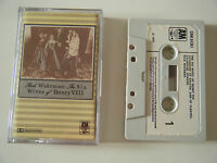RICK WAKEMAN THE SIX WIVES OF HENRY VIII CASSETTE TAPE 1973 PAPER LABEL A&M UK