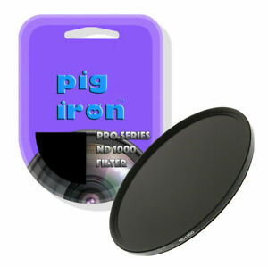 Pig Iron 77mm Pro ND1000 Filter 10 Stop Neutral Density The Big Stopper (UK) NEW
