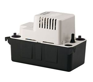 Little Giant VCMA-20ULS 554425 - 80 GPH Automatic Condensate Removal Pump, 115V