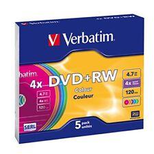 Verbatim - DVD RW Colours