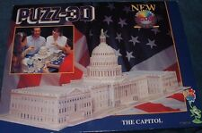 THE CAPITOL 3D Dimensional Wrebbit U.S. Jigsaw Puzzle 690 PC
