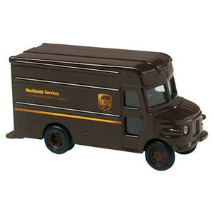 UPS Diecast  Replica P-600 Delivery Toy Truck Scale 1:55