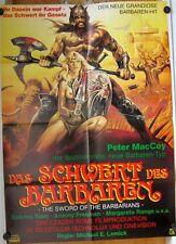 SCHWERT DER BARBAREN (Filmplakat / Kinoplakat '83) - SABRINA SIANI