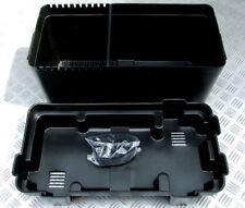 LARGE 110ah LEISURE BATTERY BOX ENCLOSURE COVER & STRAP MOTORHOME CARAVAN CAMPER