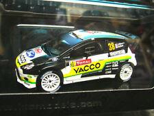 Ford Fiesta wrc rs rallye monte carlo 2012 maurn yacco #38 Neuve IXO 1:43