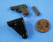 FIGURE 1:6 GERMAN PANZER GENERAL Manteuffel Walther PPK Pistol Gun Holster FH_5G
