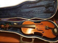BEAUTIFUL Antique 1800s German Violin Handmade Spruce/Maple