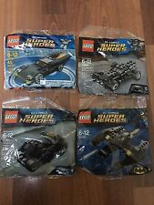 NEW LEGO DC Comics Super Heroes Polybags  30300 & 30301 & 30161& 30446  SEALED