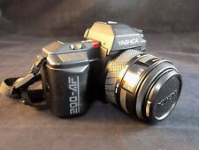 KYOCERA YASHICA 200 AF 35mm SLR FILM Camera 52mm AUTO AF 35-70mm LENS w/ case