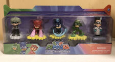 "PJ Masks Collectible Figure Set 2"" Luna Girl Owlette Catboy Gekko Romeo / NIB"