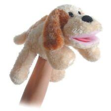 "Aurora Scruff the Dog 14"" Plush Stuffed Animal Hand Puppet Toy #16562"
