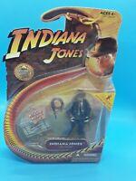 Indiana Jones w/ Sub Machine Gun Last Crusade Action Figure Hasbro 2008