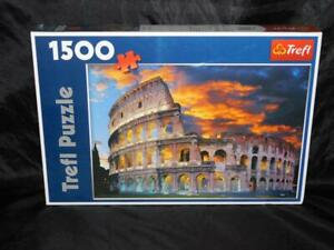 Trefl Rome Colosseum 1500 Piece Jigsaw Puzzle NEW Sealed Collosseum Italy Roman