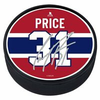 Carey Price Montreal Canadiens Textured Replica Signature Souvenir Hockey Puck