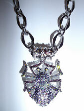 Kirks Folly Come Into My Web Spider Magnetic Enhancer & Necklace-Halloween