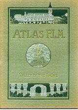 ATLAS P.L.M. 1920. VALLEY OF THE RHONE LYONS VIENNE ORANGE AVIGNON ARLES NIMES