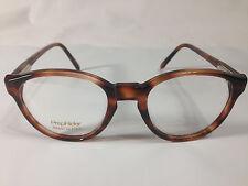 PrepRider Univis C307 Prescription Eyeglass Frames Amber 48-19/130 New! #78