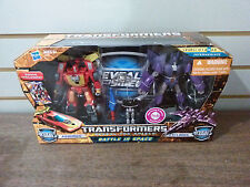 Transformers  RTS Battle in Space Rodimus & Cyclonus NEW
