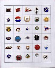 pin badge anstecknadel NORWAY FINLAND football clubs Bryne TPS Lyn Start EIK...