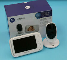 "Motorola Comfort 50 Video Baby Monitor w/ 5"" Color Display Zoom Night Vision"