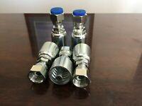 40PCS #4-#16 W//Case 6408 Hydraulic SAE O-Ring BOSS 90 ORB PLUG Kit