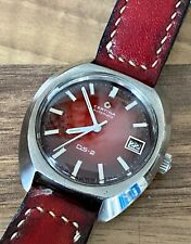 Certina ds2, near nos, perfecto working, Handmade Leather Band