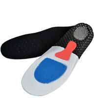 Orthotic Arch Support Insoles Sport Comfort Shoe Shock Absorb Gel Heel 1 Pair