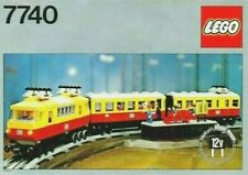 Lego Vintage 7740 Inter-City Electric Passenger Train Set, 100% Complete