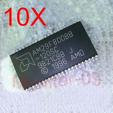 10PCS AMD AM29F800BB-120SC PSOP44 SOP44 5V 8M 120NS BOOT FLASH  Original NEW
