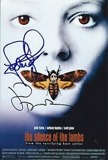 Jodie Foster & Jonathan Demme signed Silence of Lambs 8x12 photo - Exact Proof