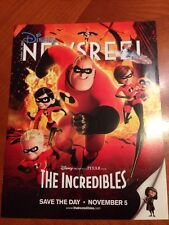 Disney Newsreel Magazine The Incredibles Save the Day October 29, 2004 New